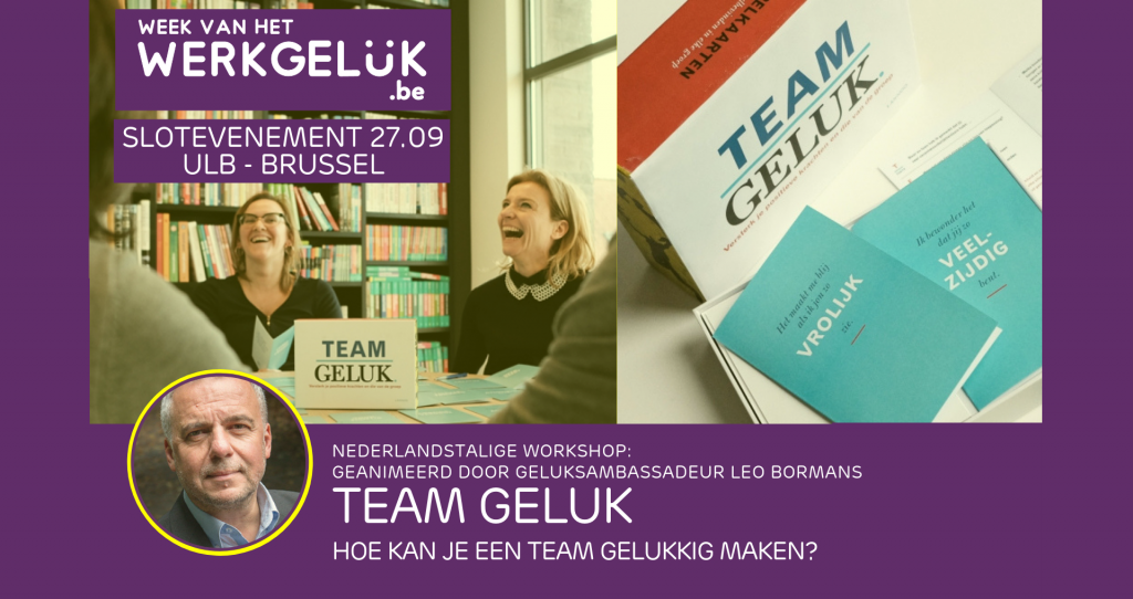 workshop TEAM GELUK Leo Bormans