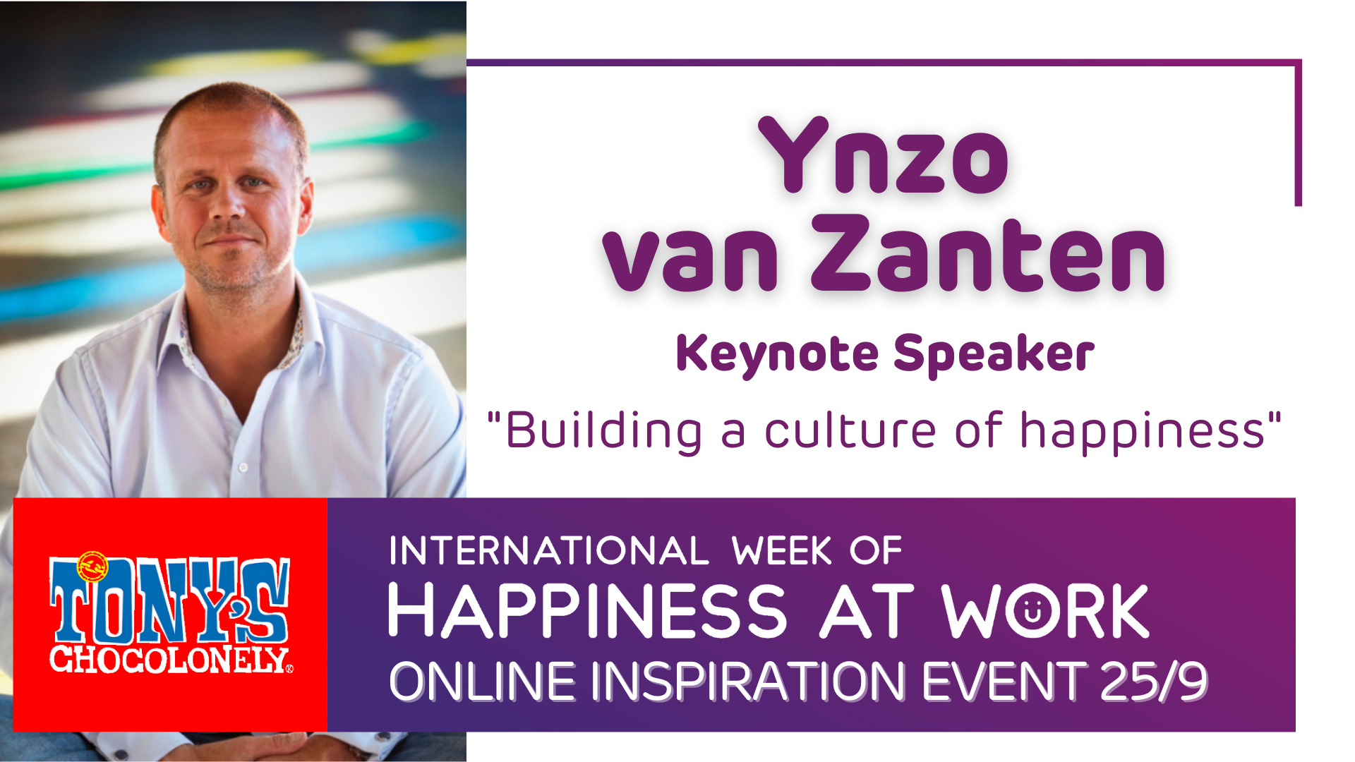 keynote speaker Ynzo van Zanten